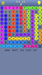 screenshot of Word Search - A free game with infinite puzzles version 4.2.8