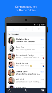 screenshot of Workplace Chat by Facebook version 186.0.0.27.85