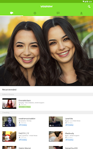 screenshot of YouNow: Live Stream Video Chat - Go Live! version 16.1.7