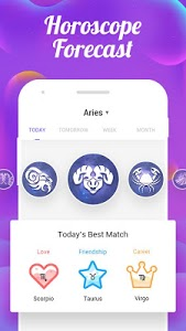 screenshot of Zodiac Signs Master - Aging Old Booth & Palm Scan version 1.4.9