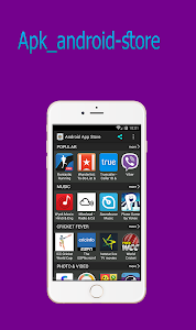 screenshot of android app store version 1.0