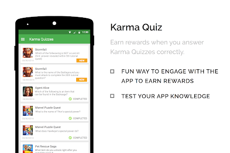 screenshot of appKarma Rewards & Gift Cards version 2.0.12