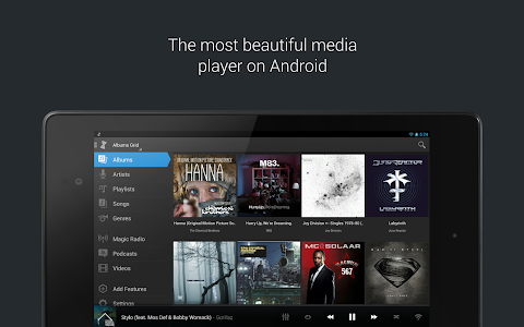 screenshot of doubleTwist Music & Podcast Player with Sync version 3.3.6
